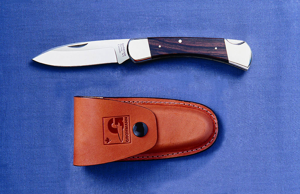 Grohmann R380S Drop Point Hunter Locklade