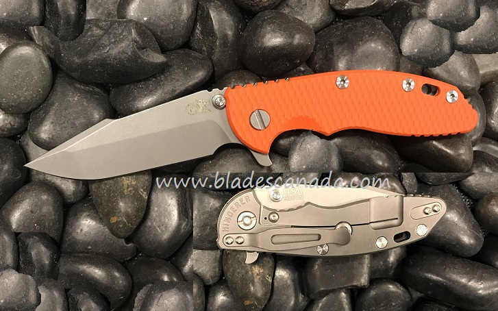 Hinderer XM-18 3.5 Gen 6 Harpoon Spanto WF - Orange