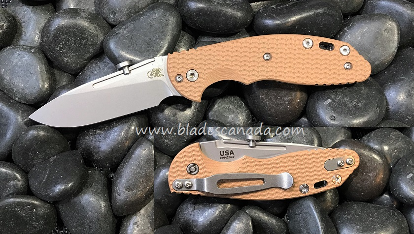 Hinderer XM Slippy 3.0 Slicer SW - Coyote G10 (Online Only)
