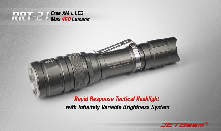 JETBeam RRT 21 Flashlight 460 Lumens