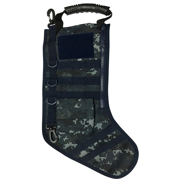 Ruck Up Tactical Christmas Stocking - Blue Digi Camo