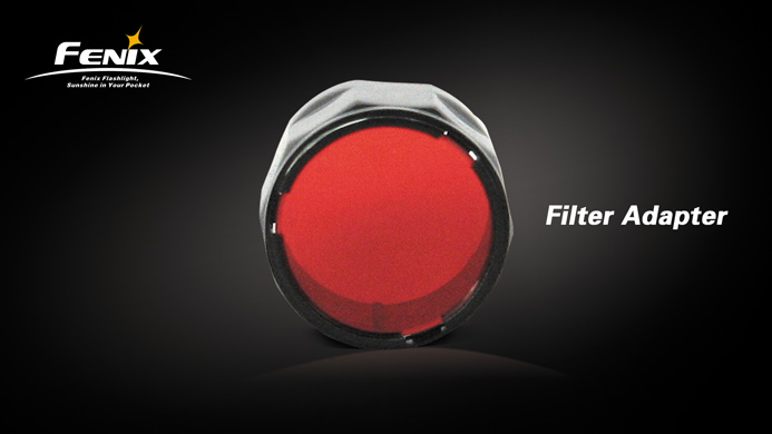 Fenix AOFL Red Filter - TK22/LD41/RC15