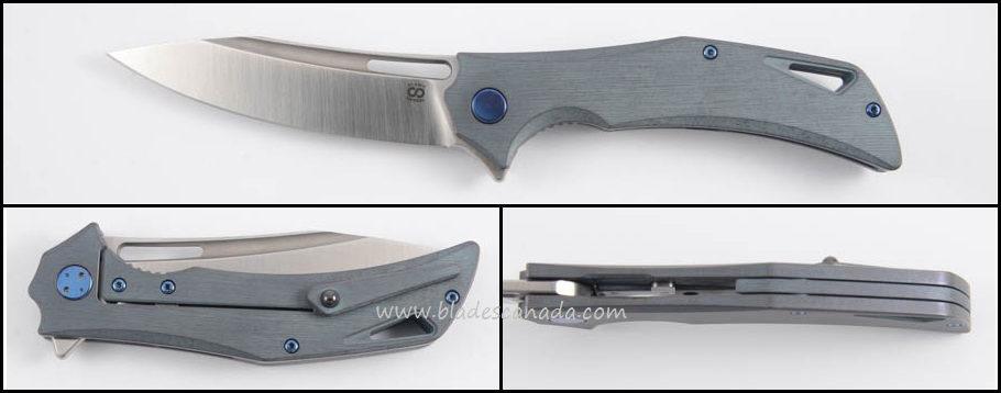 Olamic Swish S253 - Kinetic Sky/Satin