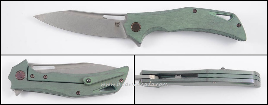 Olamic Swish S262 - Kinetic Rainforest/Satin