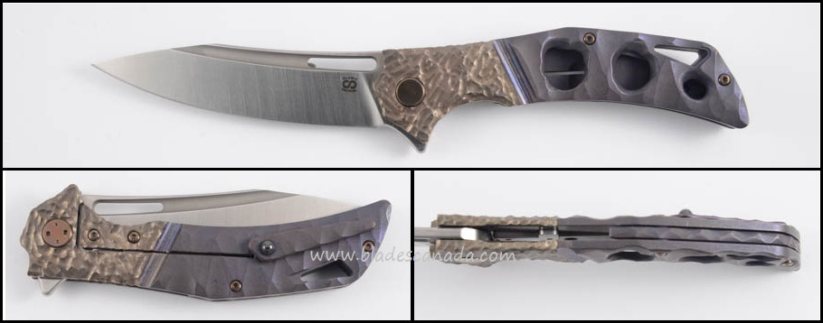 Olamic Swish S268 ISolo - 3 Hole Rock Purplewash/Molten/Satin