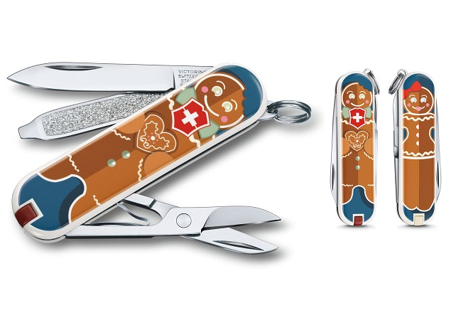 Swiss Army Classic SD Gingerbread Love - Limited Edition