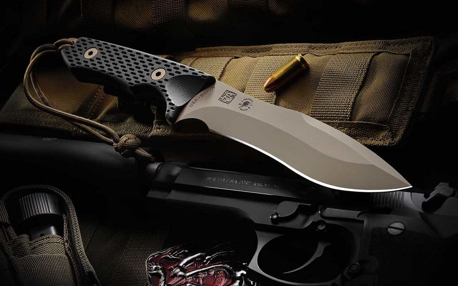 Spartan Blades Ronin Shinto FDE - Tan Kydex Sheath