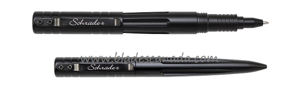 Schrade PENBK Tactical Aluminum Pen- Black (Online Only)