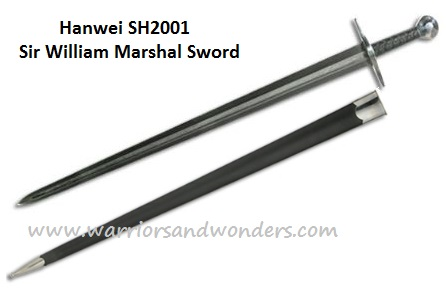 Hanwei William Marshall Sword Damascus SH2001 (Online Only)