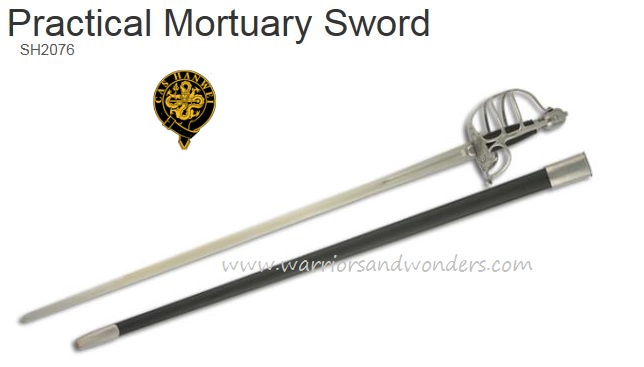 Hanwei Practical Mortuary Un-Edged Training Sword (Online Only)