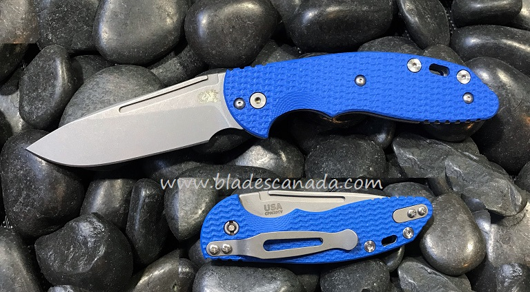 Hinderer XM Slippy 3.0 Slicer WF - Blue G10