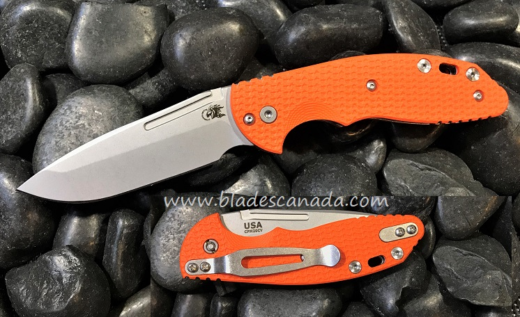 Hinderer XM Slippy 3.0 Spanto SW - Orange G10