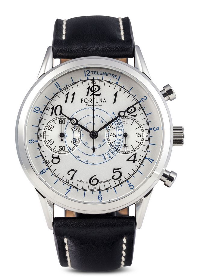 Fortuna Senator Chronograph Cream Dial 42mm - SN72430