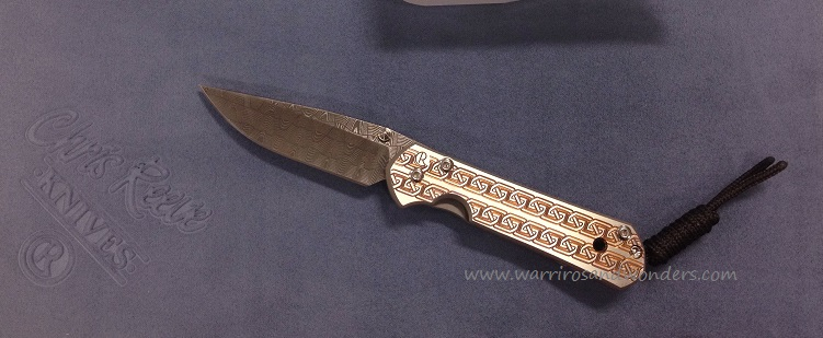 Chris Reeve Small Sebenza 21 Basketweave Damascus CCG Celtic