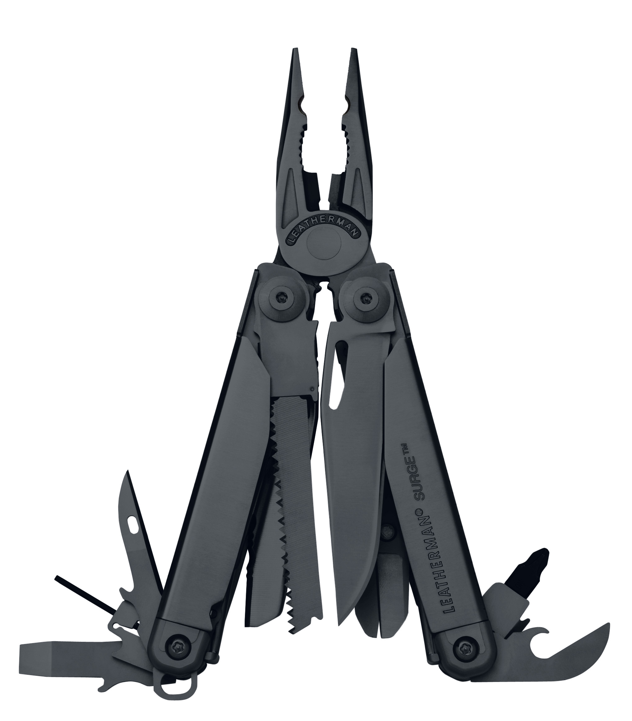 Leatherman Surge Black w/ Cap Crimper - Standard Sheath