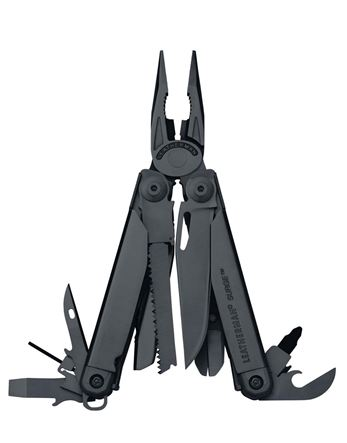 Leatherman Surge Black with Molle Sheath