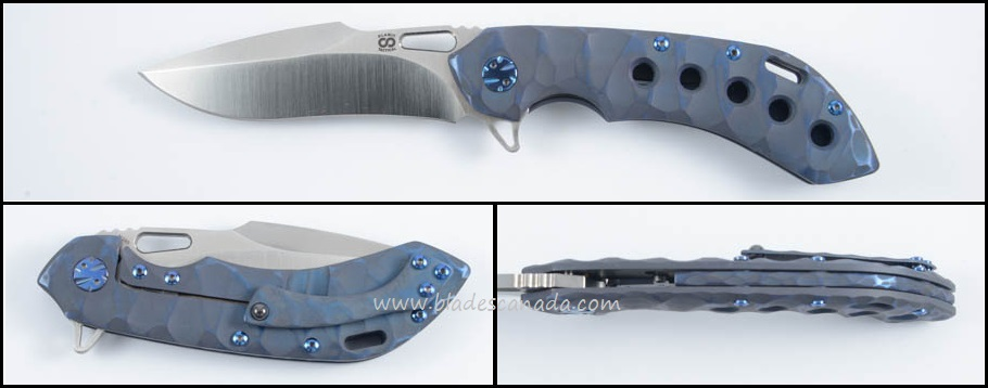 Olamic Wayfarer 247 T155H - Rock Seabed Blue/Satin