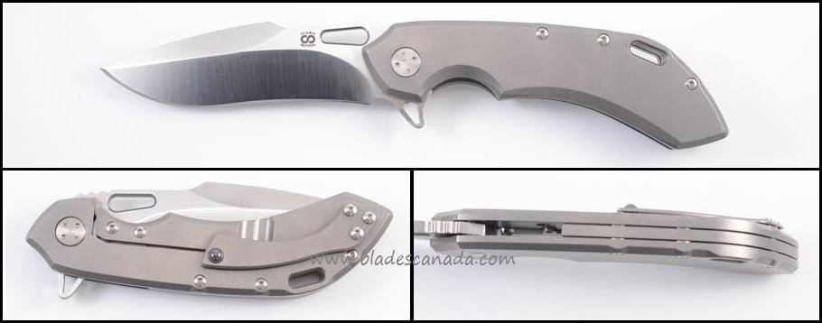 Olamic Wayfarer 247 T171H Harpoon Plain Jane - Bead Blast/Satin