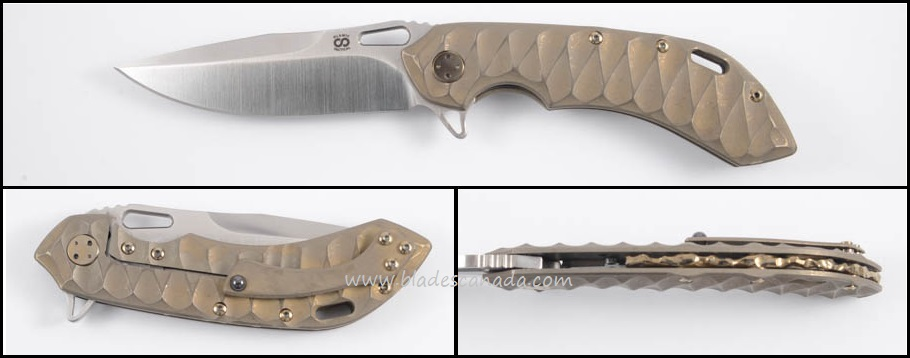 Olamic Wayfarer 247 T890 - Scalloped Bronzewash/Satin