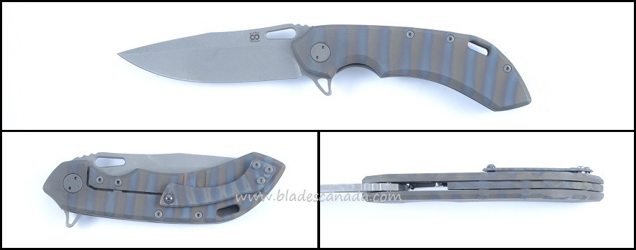 Olamic Wayfarer 247 T894 - Ti Flame Colored/Stonewash