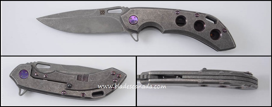 Olamic Wayfarer 247 T902 - 3 Hole Purplewash/Acid Wash