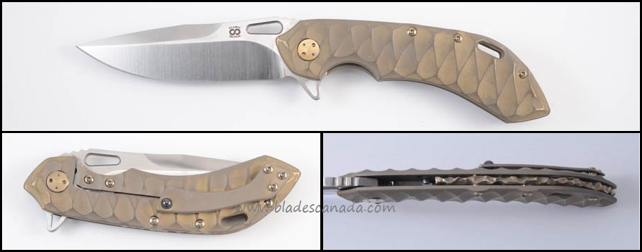Olamic Wayfarer 247 T910 - Scalloped Bronzewash/Satin