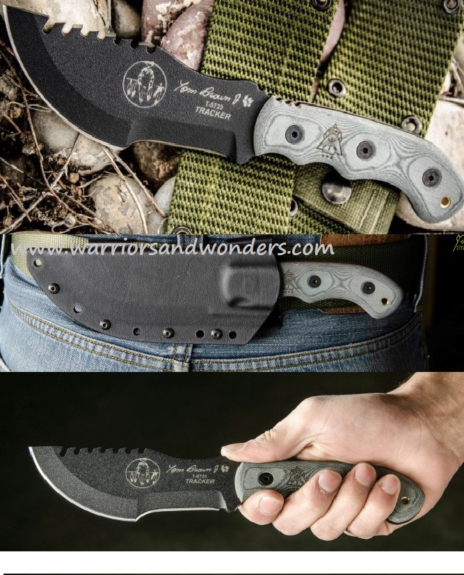 TOPS TBT020 Tom Brown Tracker #2 Kydex Sheath (Online Only)
