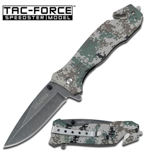Tac Force 434DGC Army Camo Assisted Opening (Online Only)