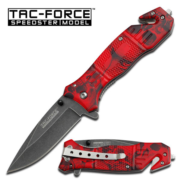 Tac Force 434RSC Red Skull Camo Assisted (Online Only)