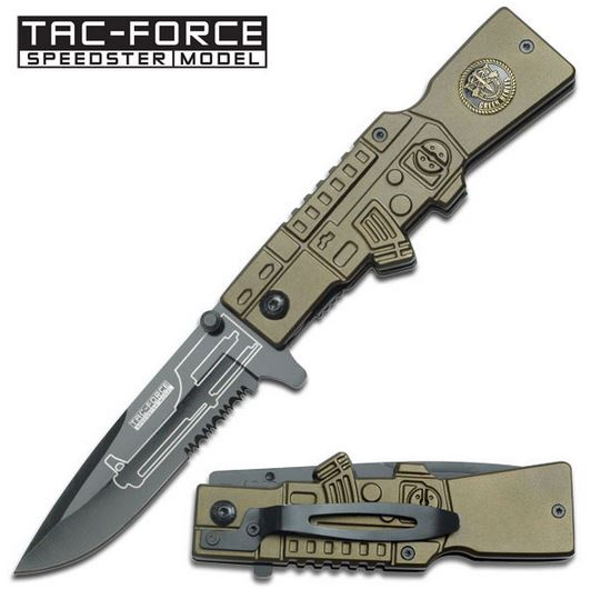 Tac Force 546GB Muzzle Aluminum Assisted Open (Online Only)