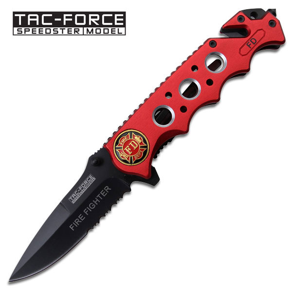 Tac Force TF611FDR Fire Department Rescue Folder (Online Only)