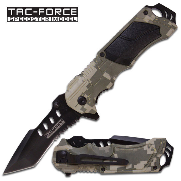 Tac Force TF690TC Camo/Black Tanto (Online Only)