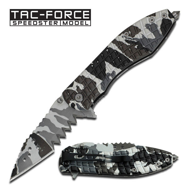 Tac Force 729DW Jagged Mini - Snow Camo (Online Only)