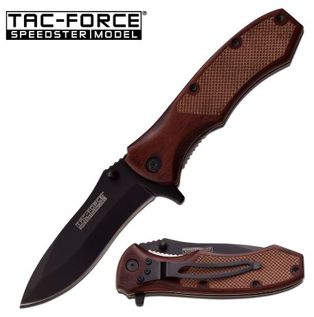 Tac Force TF800BWD Folding Knife Assisted Opening (Online Only)
