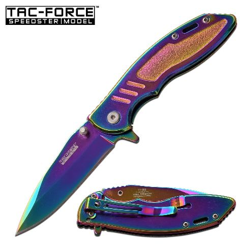 Tac Force TF908RB Folding Knife Assisted Opening (Online Only)