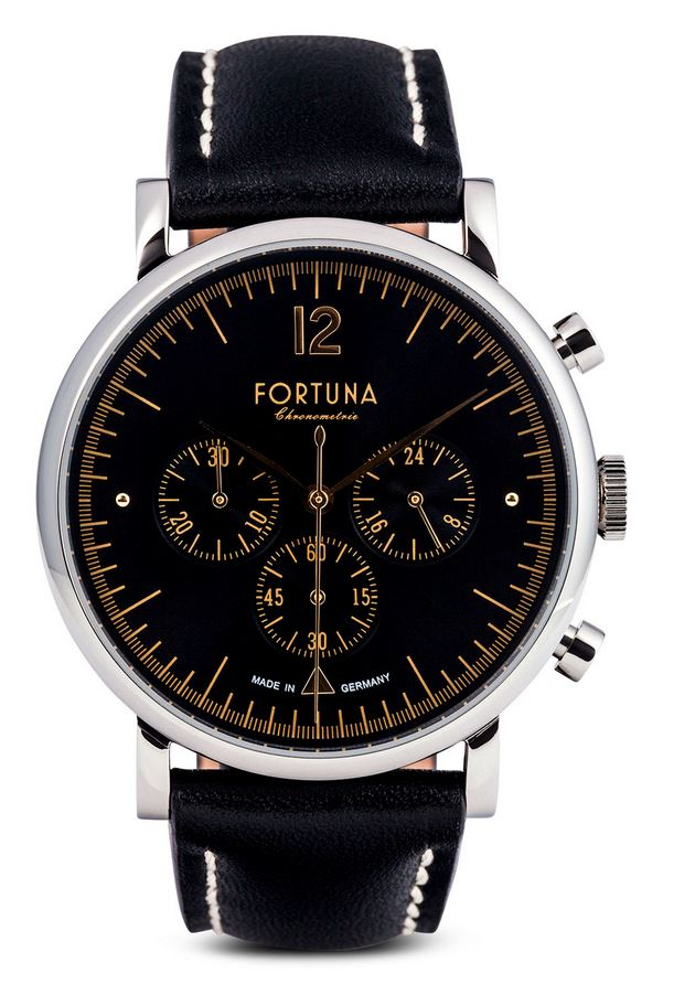 Fortuna The 50's Club Chronograph Black Dial - TH72432