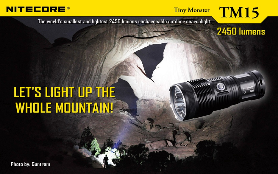 Nitecore TM15 Tiny Monster 2450 Lumens