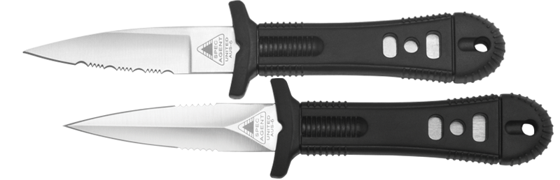 United Cutlery 2750 Special Agent Stinger II, Satin, Serrated