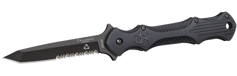United Tailwind 2906S Urban Tactical Stiletto- Serrated (Online)