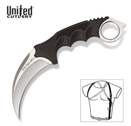 United Honshu 2977 Karambit w/Shoulder Harness (Online Only)