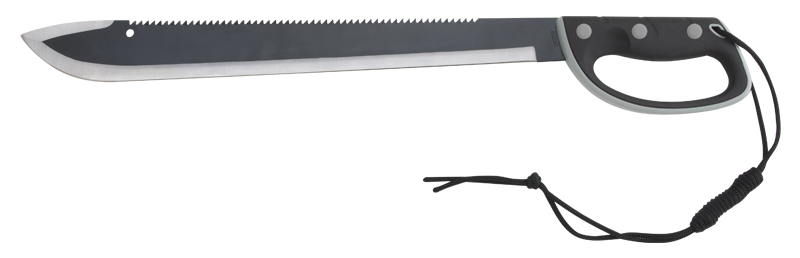 "United UC8008 Colombian Sawback Machete- 24"" (Online Only)"