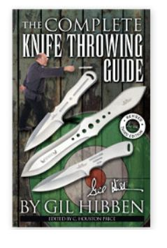 United U0822 Gil Hibben Knife Throwing Guide 64 pages