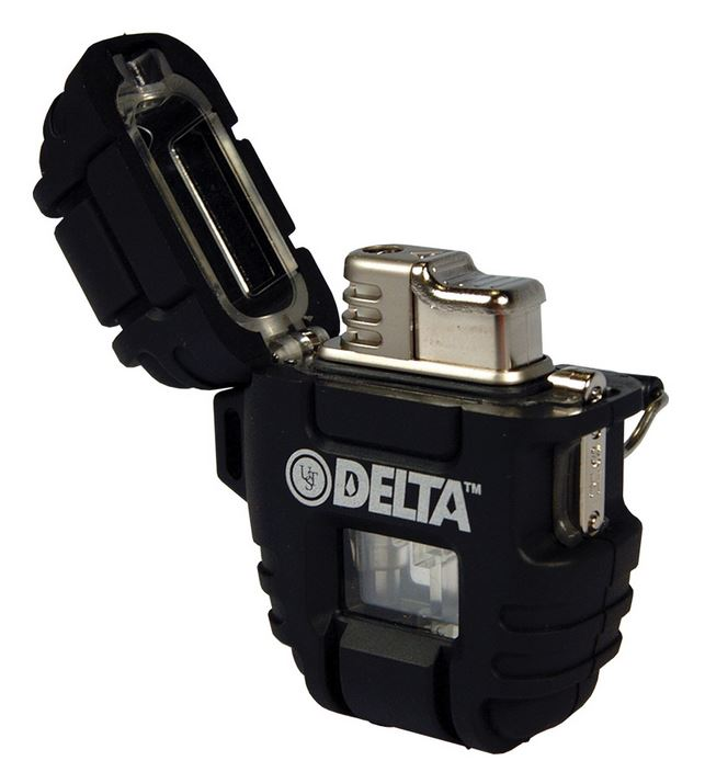 Ultimate Survival Technologies Delta Stormproof Lighter - Black