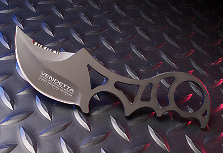 Dark Ops DOH110 Vendetta Covert Neck Knife