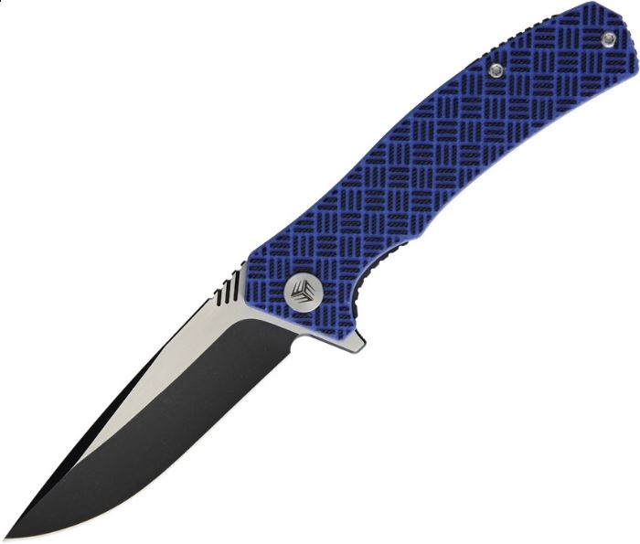 WE Knife Blitz Blue/Black Folding Knife, VG10, WE711A