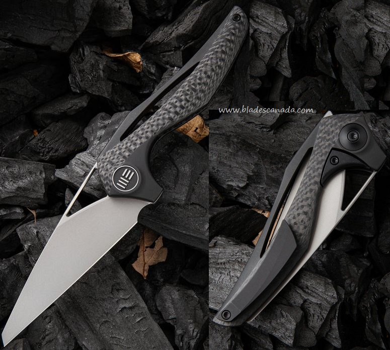 WE Knife Eterna Elijah Isham Folder, Titanium Framelock, M390 Steel, WE918D
