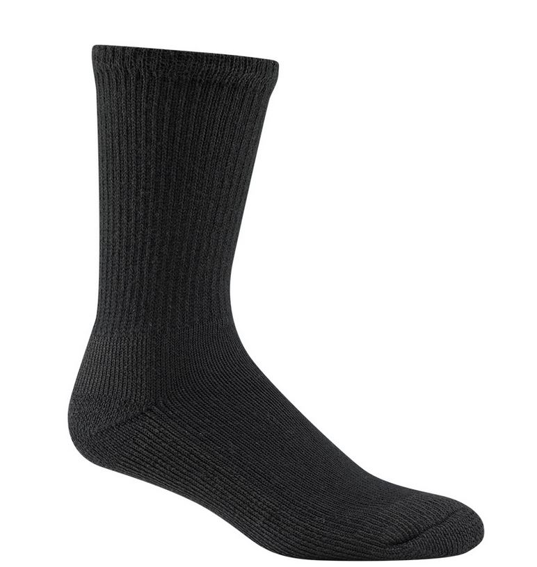 Wigwam 1140 At Work Steel Toe Socks - Black
