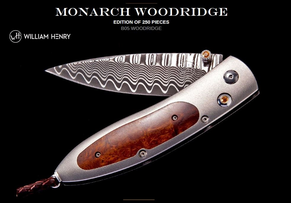 William Henry B05 Monarch Woodridge ZDP189 Damascus