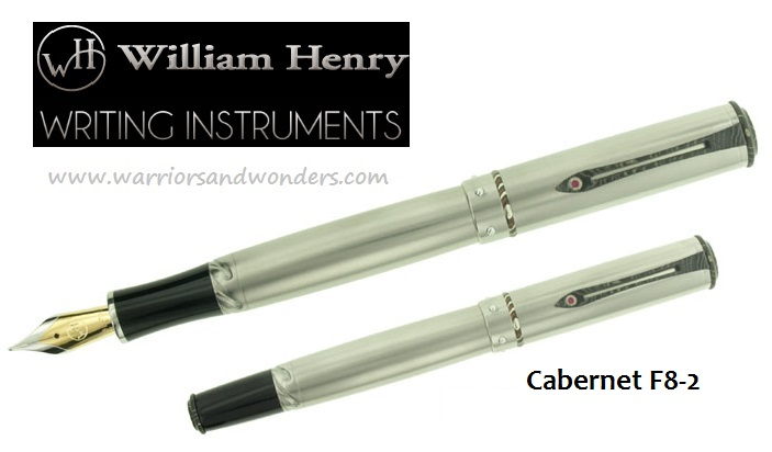 William Henry Cabernet F8-2 Fountain Pen (Online Only)