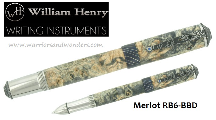William Henry Merlot RB6-BBD Pen (Online Only)